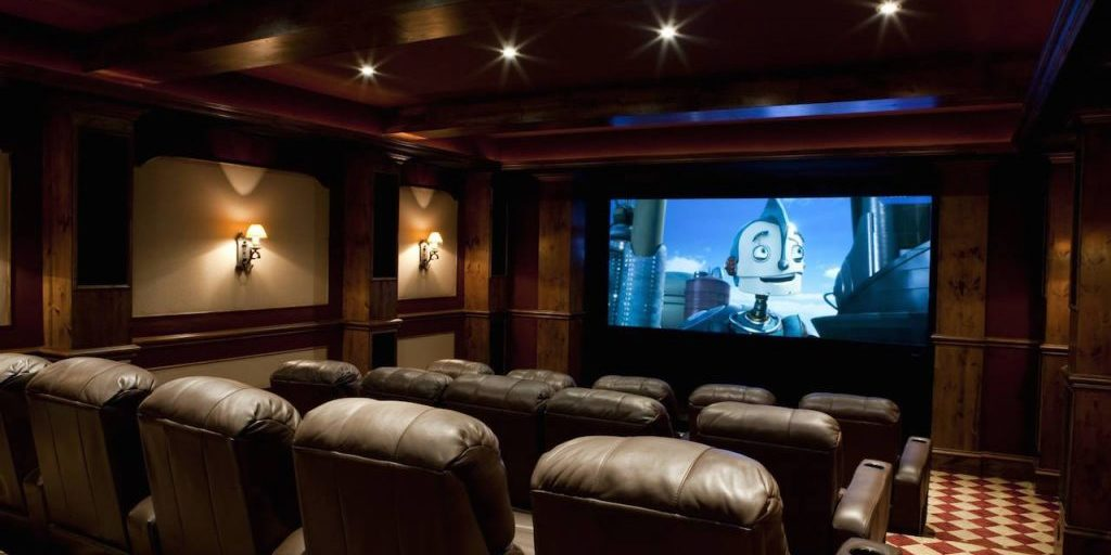 Movie / Theater Room Setup